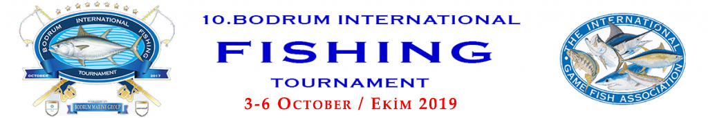 Bodrum International Fishing Tournament Logo